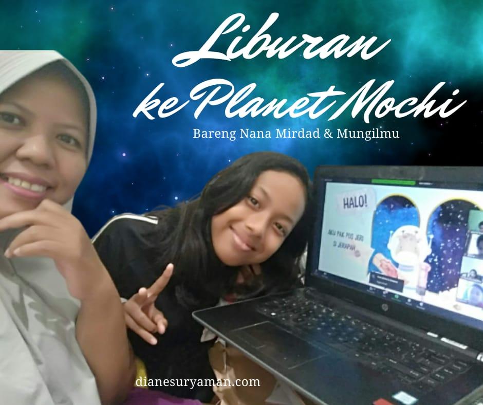 Liburan ke Planet Mochi