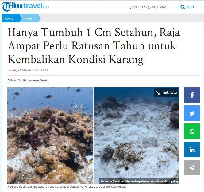 Kenakeragaman Wisata Alam Indonesia
